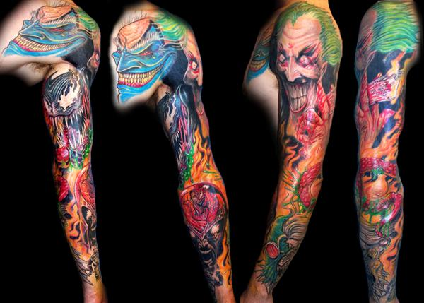 Comic Book Villians Sleeve