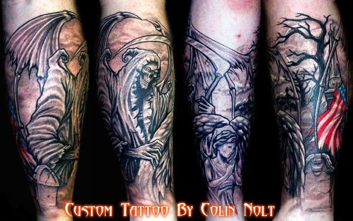 Memorial Reaper leg piece