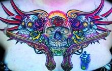 Sugar Skull Chestpiece